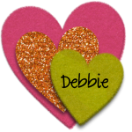 Debbie Signature 150x150 A Sprinkle of Inspiration and A Dash of Creativity   July 2014