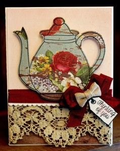 PSweeties Tea Pot Card 238x300 Paper Sweeties March Inspiration Challenge #17   Polka Dot Love