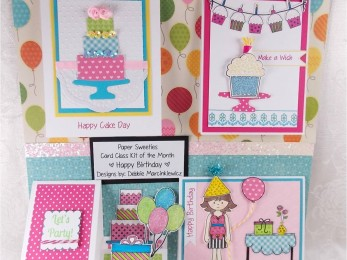Paper Sweeties Kit of the Month – August 2015