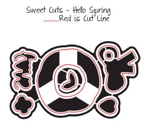Sweet Cuts Hello Spring