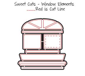 Sweet Cuts | Window Elements