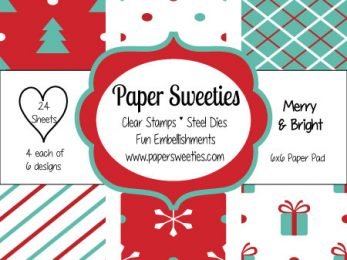 Merry and Bright Patterned Paper