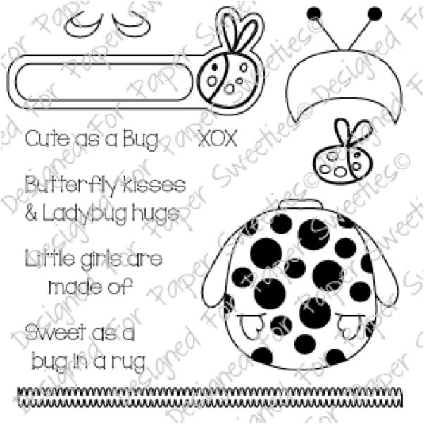Cute as a Bug – Paper Sweeties