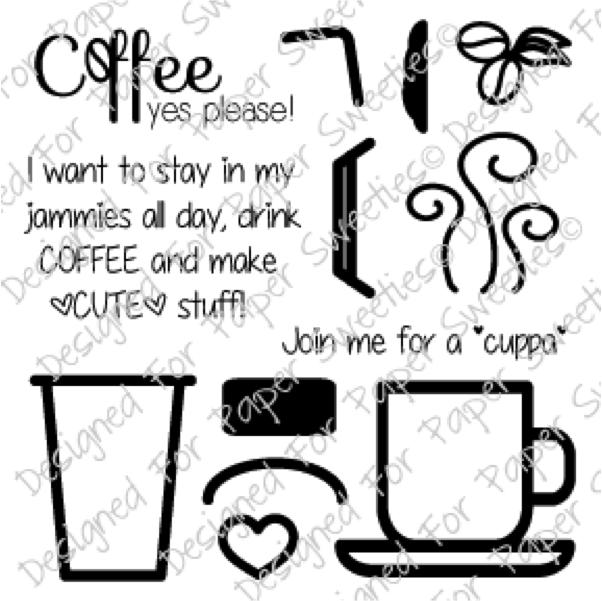 Paper Sweeties Coffee, Yes Please