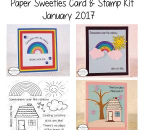 Paper Sweeties Card and Stamp Kit | Jan/Feb 2017