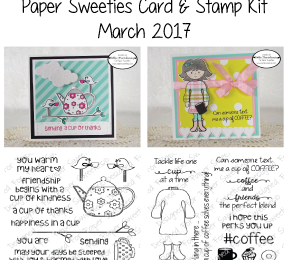 Paper Sweeties Card and Stamp Kit | Mar/Apr 2017