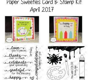 Paper Sweeties Card and Stamp Kit | Apr/May 2017