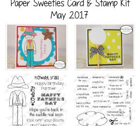 Paper Sweeties Card and Stamp Kit | May/June 2017