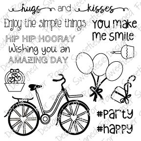 PS Bicycle Stamp & Die Set