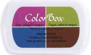 ColorBox 4-Color Premium Dye Ink Pad | Fall